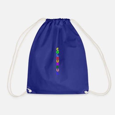 Colorful Colorful colorful colors - Drawstring Bag