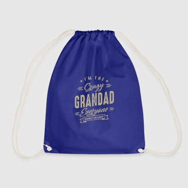 Crazy Grandad - Drawstring Bag