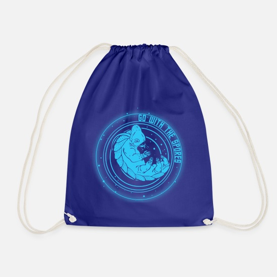 Star Bags & Backpacks - Star Trek Discovery Tardigrade Go With The Spores - Drawstring Bag royal blue