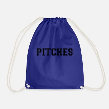 Pitch pitches - Drawstring Bag