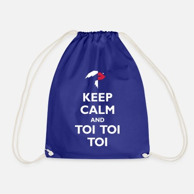 Toy Keep Calm and Toi Toi Toi - Drawstring Bag