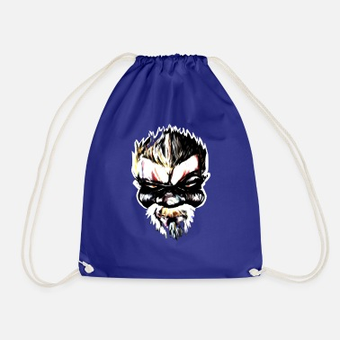 Gangster Badass Streetart Comic Boss - Drawstring Bag