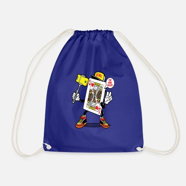 King of Hearts - Drawstring Bag