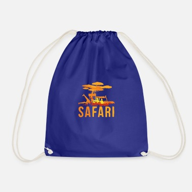 Safari Safari Safari Safari - Drawstring Bag