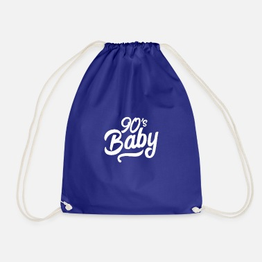 Liam Gallagher 90s baby hand lettering - Drawstring Bag