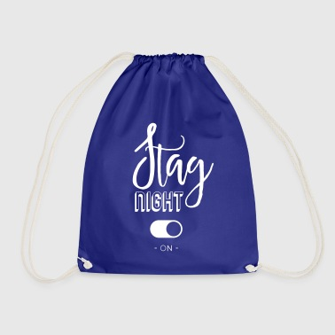 Stag night - Drawstring Bag