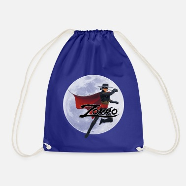 Zorro The Chronicles At Full Moon - Drawstring Bag
