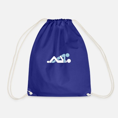 Missionary Position A Couple Having Sex - Drawstring Bag