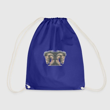 Horse stallion - Drawstring Bag