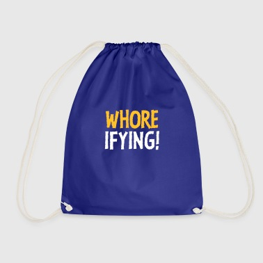 Slutty Terribly Slutty! - Drawstring Bag