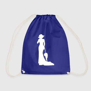 Fine lady - Drawstring Bag