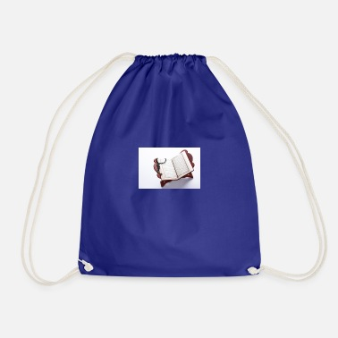 open quran support to see 23 2148230961 - Drawstring Bag