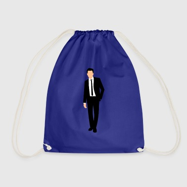 Suit suits - Drawstring Bag