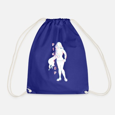 Topper pin-up girl met topper - Gymtas