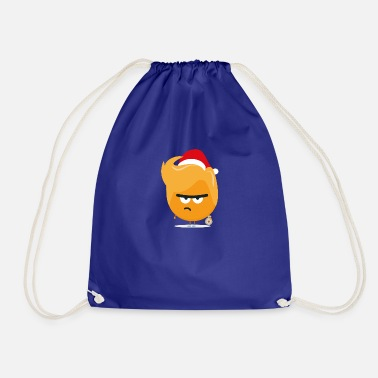 Træ Vred Orange Santa jul fyr - Gymnastiktaske