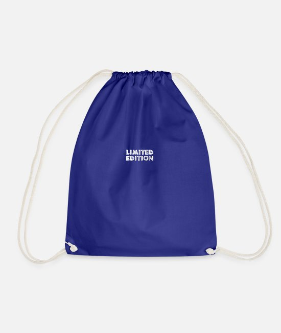 Limited Edition Bags & Backpacks - limited edition - Drawstring Bag royal blue