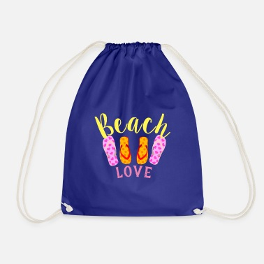 Beach love - Sac à dos cordon