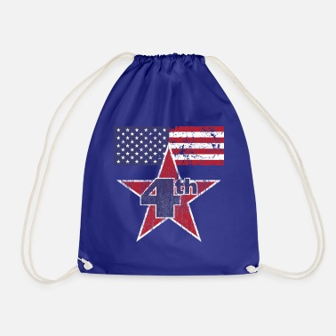 4th Of July 4th of July - Drawstring Bag