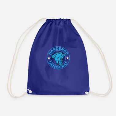 Democrat Democratic Politics - Hardened Democrat - Drawstring Bag