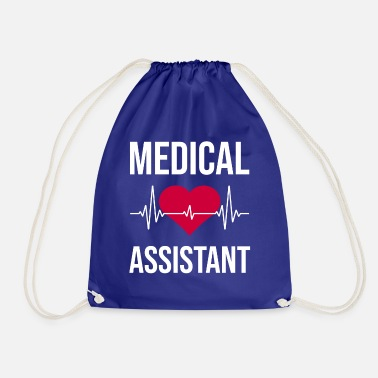 Medical nurse hospital - Drawstring Bag