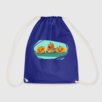 Pumpkin - Drawstring Bag