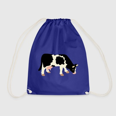 Moody the cow - Drawstring Bag