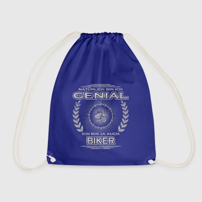 Gift Ingenious I am the master of bike cycle cycling - Drawstring Bag