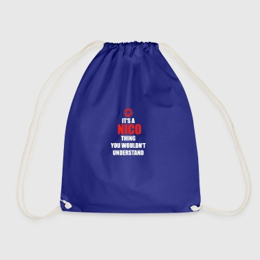 Gift it a thing birthday understand NICO - Drawstring Bag
