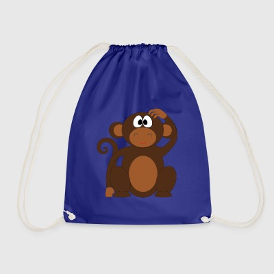 Pelo the monkey - Drawstring Bag