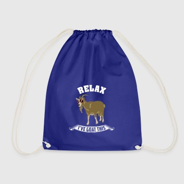 Relaxed cool goat - Drawstring Bag