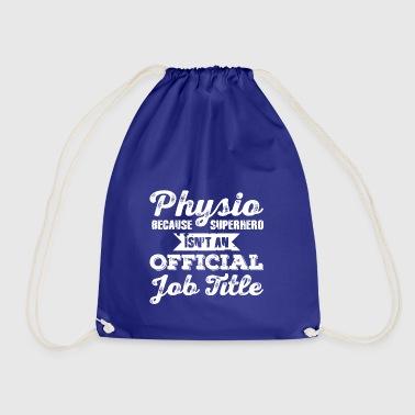 sacs et sacs dos physio commander en ligne spreadshirt. Black Bedroom Furniture Sets. Home Design Ideas