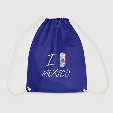 I love Mexico - Drawstring Bag