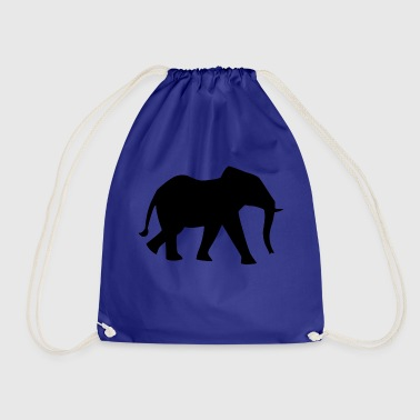 elephant - Drawstring Bag