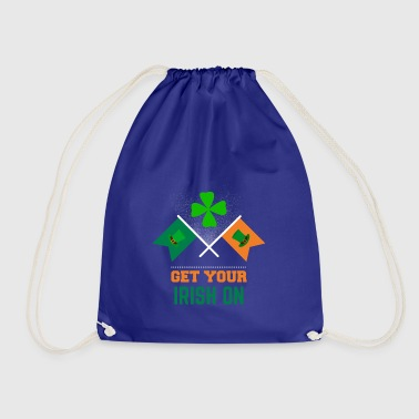 Get your Irish on St Patrick's Day apparel - Drawstring Bag