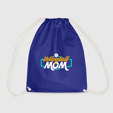 Volleyball Mom - Drawstring Bag