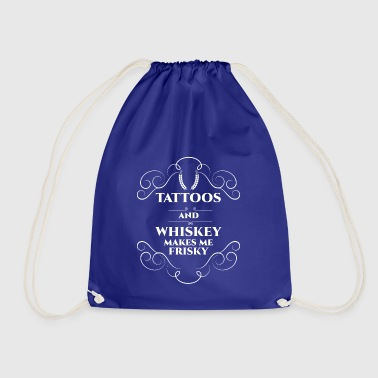 T-shirt Whisky - Whiskey - Scotch - tatuaggio - Sacca sportiva