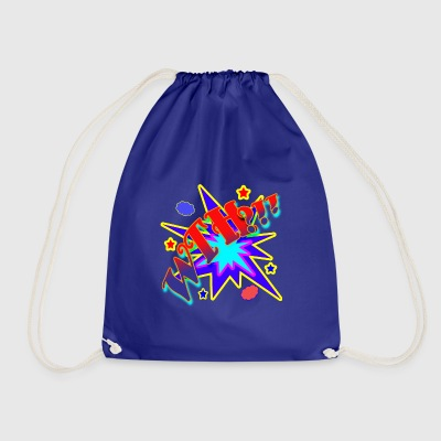Comic Book What The Hell - Drawstring Bag