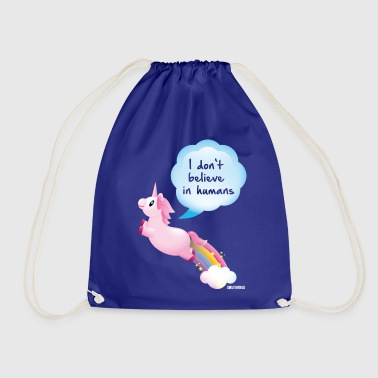 SmileyWorld I don't belive in Humans - Drawstring Bag