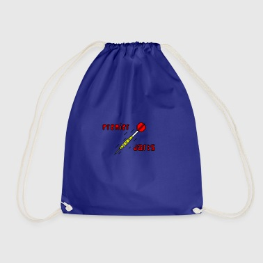 premier darts logo - Drawstring Bag
