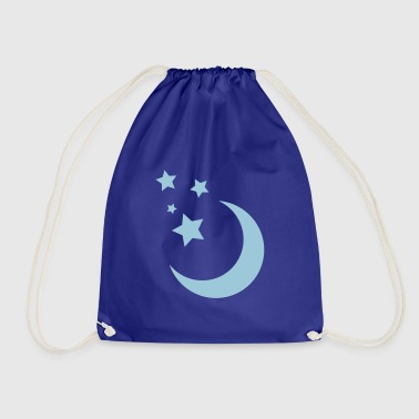 Stars and Moon - Drawstring Bag