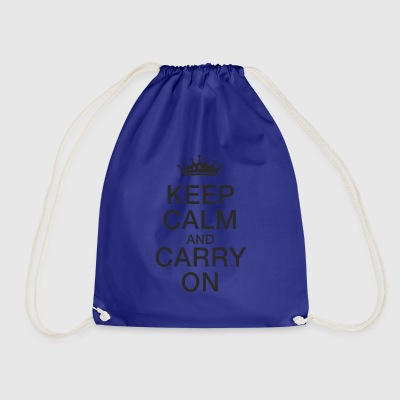 Keep calm - Drawstring Bag