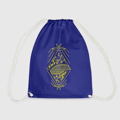 UFO ALIEN - Drawstring Bag