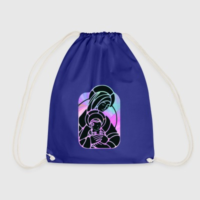 god god church church bible bible wedding wedding sign - Drawstring Bag
