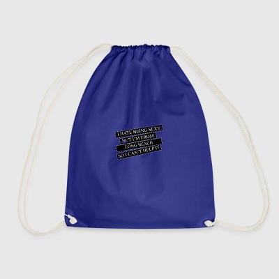 Motive for cities and countries - LONG BEACH - Drawstring Bag