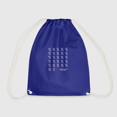 Counting - Drawstring Bag
