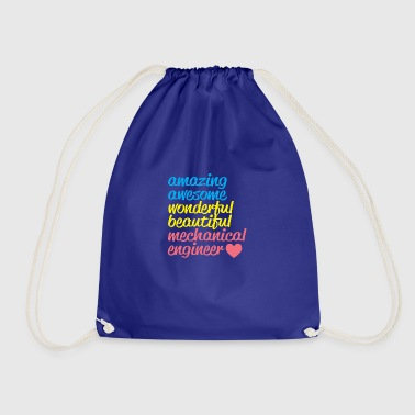 AMAZING AWESOME mechanical engineer - Drawstring Bag