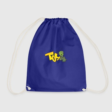 toy graffiti - Drawstring Bag