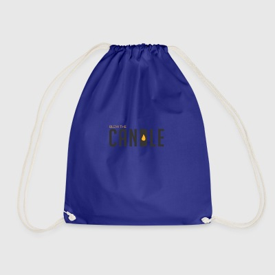 BLOW THE CANDLE - Drawstring Bag