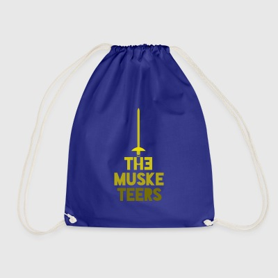 the musketeers - Drawstring Bag