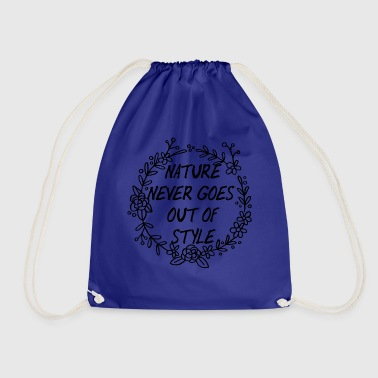 Springbreak / Springbreak: Nature Never Goes Out - Drawstring Bag
